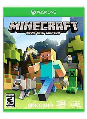 Minecraft Xbox One Edition Video Game Kids Creative Adventure Play New Free Ship