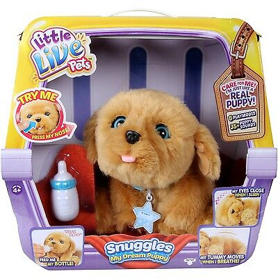 Little Live Pets My Dream Puppy Soft Toy;new!!!!!!!!!!!!!!              Freepost