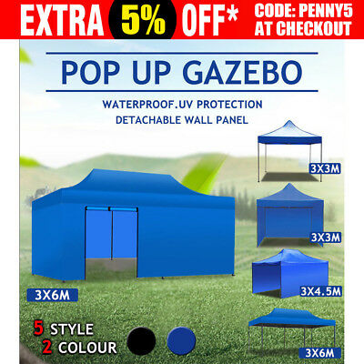 Folding Outdoor Gazebo Marquee Tent Canopy Pop Up Party Stall BBQ Party Market