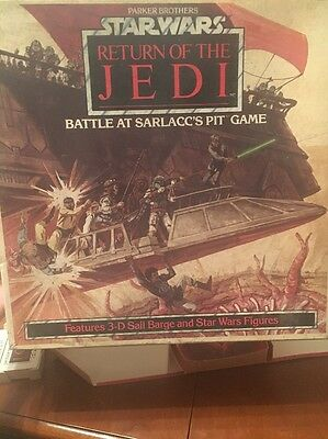 Star Wars Return of The Jedi Battle at Sarlacc's Pit Game 1983 Parker Bros.