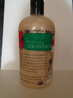 New Philosophy Shimmering Snowlace Shower Gel