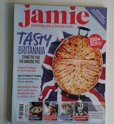 JAMIE OLIVER magazine TASTY BRITANNIA.   MAKING YOU A BETTER COOK ISSUE 23