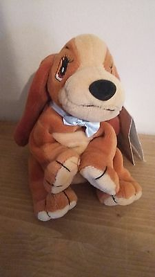 Disney Lady and the Tramp soft toy beanie