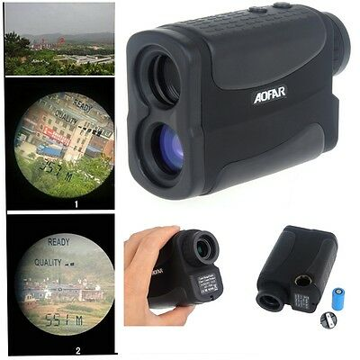 6*25 700m/Yd Golf Laser Range Finder Rangefinder Distance Meter Speed Measurer