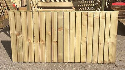 Brand New 6ft x3ft Strong Fully Framed Feather Edge Fence Panel Garden  RRP £28