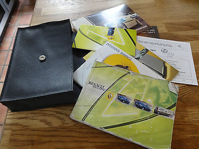 Renault Megane Mk2 Owners Guide Manual Handbook & Wallet