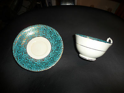 Aynsley Bone China Tea Cup and Saucer Made In England