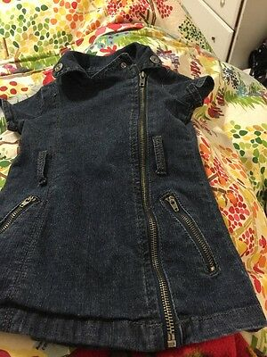 Guess Girls Size 3 Toddler Denim Romper