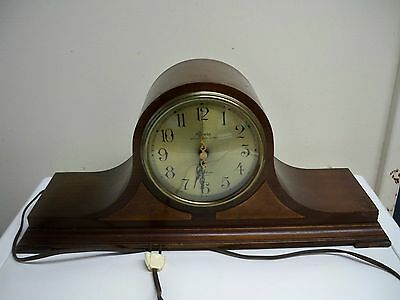 Rare Revere Westminster Chime Telechron Motored Electric Clock Tested