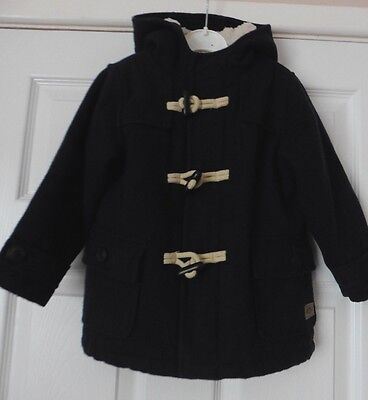 Stunning Boys Hooded Duffle Coat By Next, Age Boys 2 - 3 Years