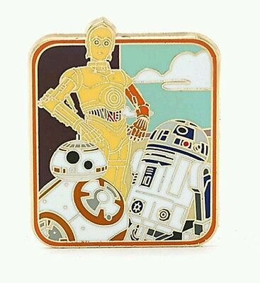 Disney Paris Star Wars: The Force Awakens Limited Edition Droids Pin