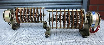 2 X Nsf Ledex Solenoid Rotary Switch 6 Wafers 24 Positions