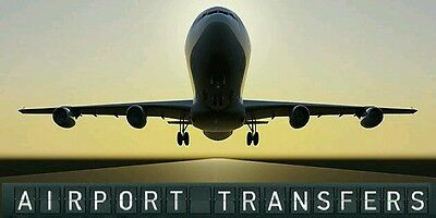 8 seater airport transfers