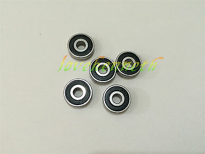 5/10/20pcs Rubber Seal Ball Bearing 605-2RS To 609-2RS Deep Groove Bearings