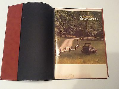 1980 Rand McNally Atlas with cover