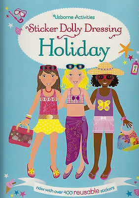 Sticker Dolly Dressing on Holiday BRAND NEW BOOK by Lucy Bowman (Paperback 2015)