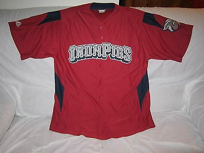 Mlb Bnwot Lehigh Valley Ironpigs Majestic Baseball Jersey(Phillies Affiliate) S