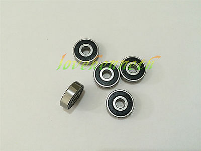 5/10/20pcs Rubber Seal Ball Bearing 623-2RS To 629-2RS Deep Groove Bearings
