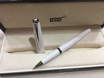 Montblanc Cruise Collection White Rollerball - Used
