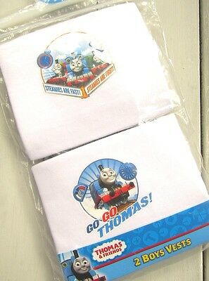 Thomas the Tank Engine  - boy's vests - pack of 2  - BNWT - Age 18-24months/92cm