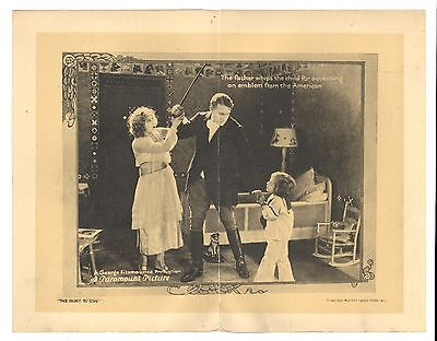 "1920 Original Lobby Card MAE MURRAY ""The Right To Love"" Paramount Silent 11 x 14"