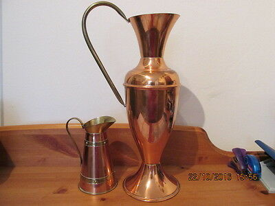 Brass Effect Jugs - Used For Display -