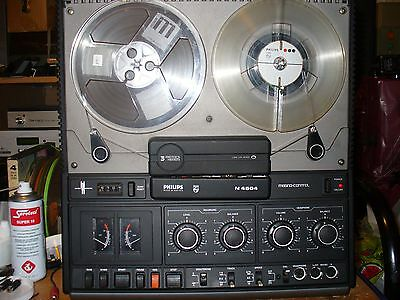 Philips N4504 Reel To Reel Tape Recorder, Serviced Pat Tested, 6 Month Warranty