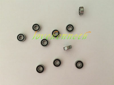 5/10/20pcs Rubber Seal Ball Bearing 695-2RS To 699-2RS Deep Groove Bearings