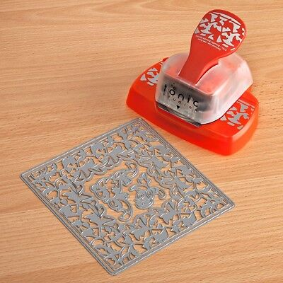 Tonic Studios: Rose Circle Doily Intrica Die And Rose Border Punch Set
