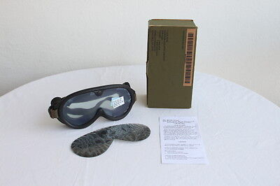 US-ARMY-WIND-DUST-SUN-GOGGLES new condition from old stock