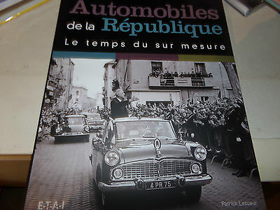 Livre L Automobile De La Republique Edit. Etai   Lesueur