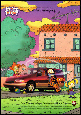 1998 automobile ad for Mercury Villager, Rug Rats-909