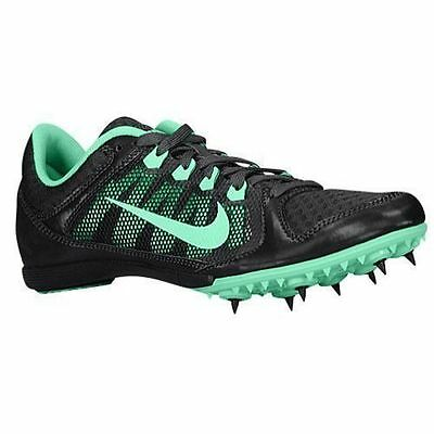 Nike Zoom Rival MD 7 Track Spikes Black & Turquoise Women's Size 7 ( 24.5 cm)
