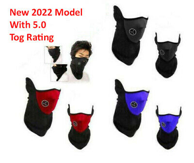 4.2 Tog Neoprene Winter/Wind/Snow Face Protection Mask/Balaclava
