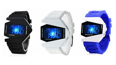 Mens/Womens,Boys/Girls, Multi-Function Alarm Stopwatch LCD Sports Watch
