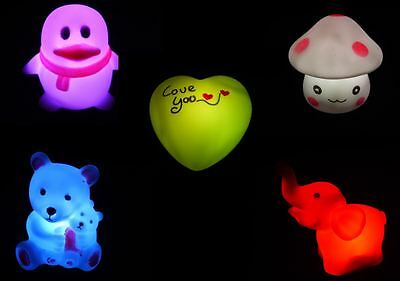Childrens/Toddlers/Babies Colour Changing LED Night Light - Soother/Pacifier
