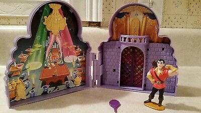 90's Beauty and the Beast Playset