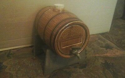 Vintage Mackenzie Scotch Whisky Mini Keg Barrel Rare Promotional Item
