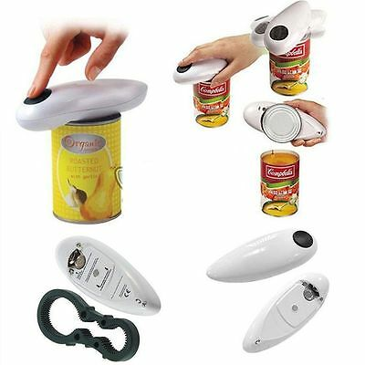 One Touch Automatic Electric Can Tin Bottle Opener No Hands Battery Operated WA
