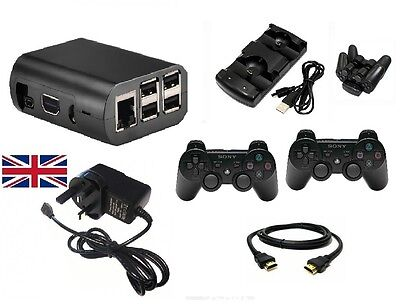 RetroPie - Raspberry Pi 3 Retro Gaming Kit - 32GB - Wireless Controllers
