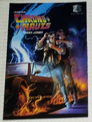 ZBOX Exclusive VARIANT Back To The Future ~ Chrononauts Graphic Novel Book One 1