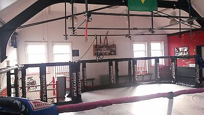 MMA Cage Wall