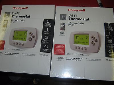 (2) New Honeywell  Wifi Programmable Thermostat  NEW