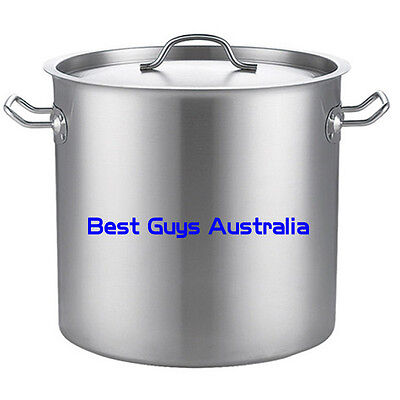 Brand New Stainless Steel 50L (40Cm) Stock Pot Chef Quality 12 Month Warranty
