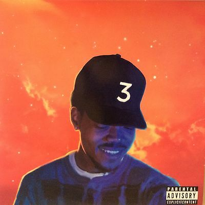 "Chance The Rapper "" Coloring Book "" ** Double Coloured Vinyl ** Ltd Edition Lp"