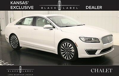 2017 Lincoln MKZ/Zephyr BLACK LABEL CHALET THEME SEDAN  MSRP $58170 VOICE NAVIGATION VENETIAN LEATHER SEATS MOONROOF MULTI CONTOUR SEATS TECH PACK