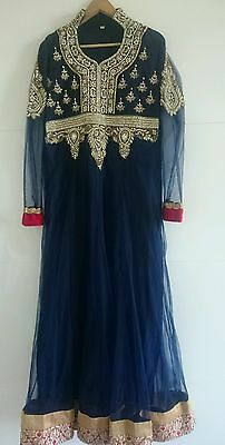 Pakistani designer wedding/eid diamonte dress