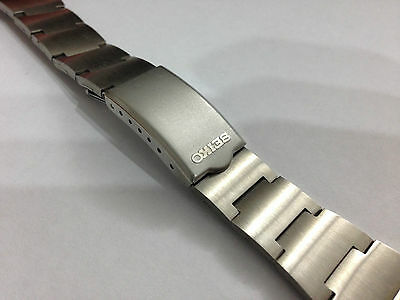Rare Seiko 18Mm Stainless Steel Gents Watch Strap ,bellmatic, Chrono,new(Vs-2)