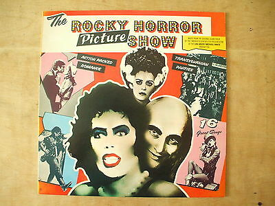 The Rocky Horror Picture Show - 1975 Uk Movie Soundtrack Lp Record