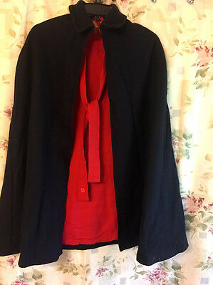 Vintage Nurse's Wool Cape 1940s in Excellent Condition